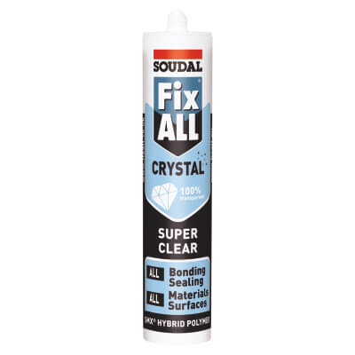 Soudal Fix All Crystal - 290ml - Clear)