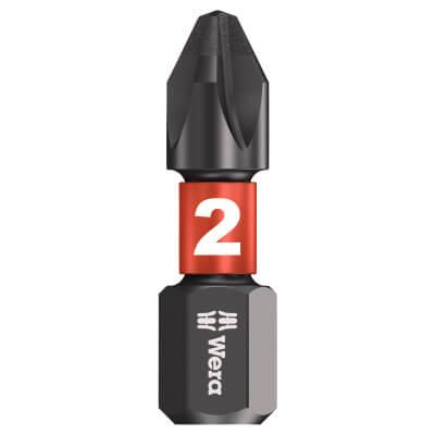 Wera Impaktor Phillips Bit Single - PH2 x 25mm)
