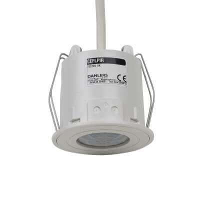 Danlers Flush Mounted Ceiling Occupancy Switch - White
