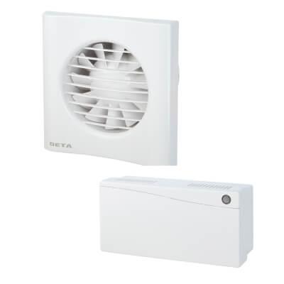 Deta 4617 4 Inch Low Voltage Axial Humidistat Extractor Fan)
