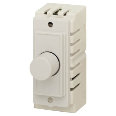 1 Gang LED Dimmer Module - White)