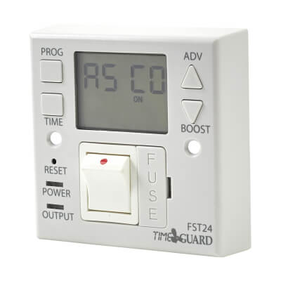 Timeguard 24 Hour Fused Spur - White)