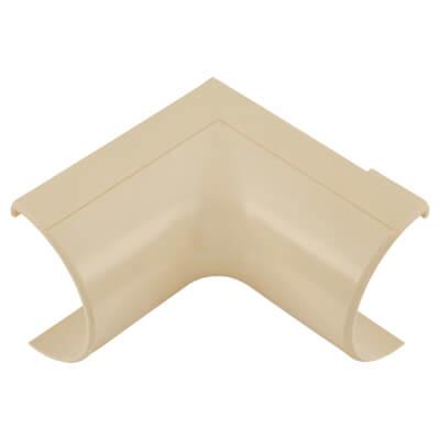 D-Line Internal Bend - 50 x 25mm - Clip-Over - Magnolia)