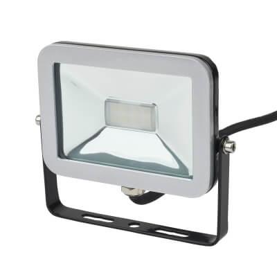 Brackenheath 10W LED ispot Floodlight - Black)