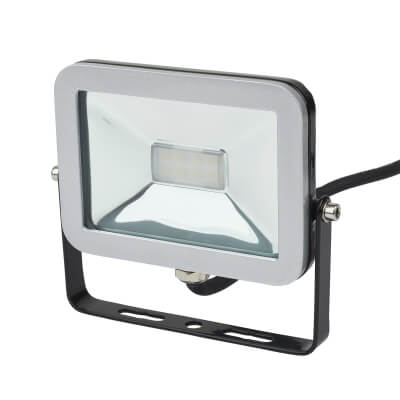 Brackenheath 10W LED ispot Floodlight - Black)