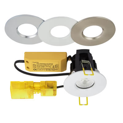 Daxlite DaxELITE 10W Colour Changing Fire Rated LED Downlight - Dimmable)