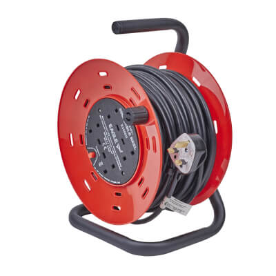 13A 240V Extension Reel - 30m)