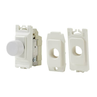 Varilight 0-120W Trailing Edge V-PRO Grid Dimmer Module - White)