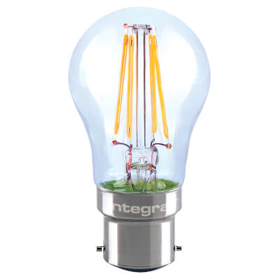 Integral LED 4.5W Mini Globe Dimmable Filament Lamp - B22 - 2700K )