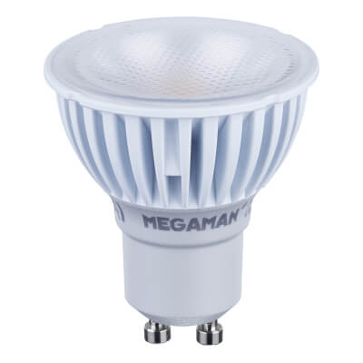 Megaman 4W LED GU10 Spotlight Lamp - Warm White)