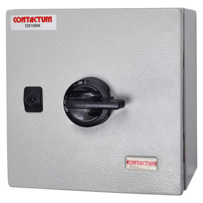 Contactum 100A Met Triple Pole & Neutral Switch)