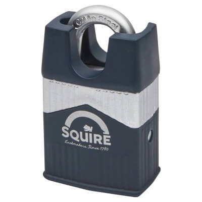 Squire Warrior Closed Shackle Padlock - 45mm - Keyed to Differ)