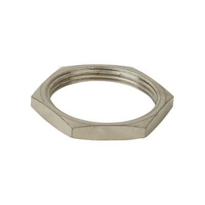 Steel Conduit Locknut - 32mm - Galvanised)