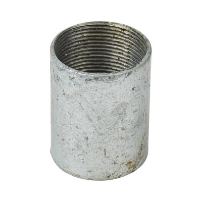 Steel Conduit Coupler - 32mm - Galvanised)