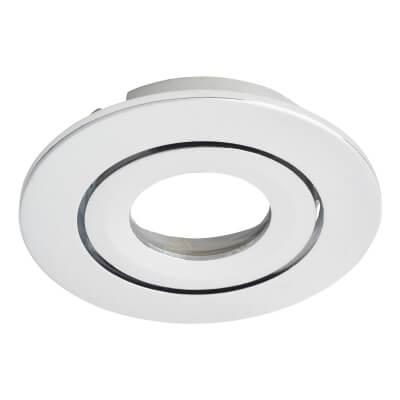 Daxlite Round Bezel for Daxlite Tilt Downlight - Polished Chrome)