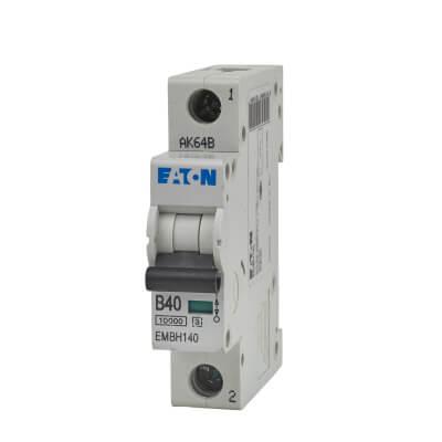 Eaton MEM 40A Single Pole 3 Phase MCB - Type B)