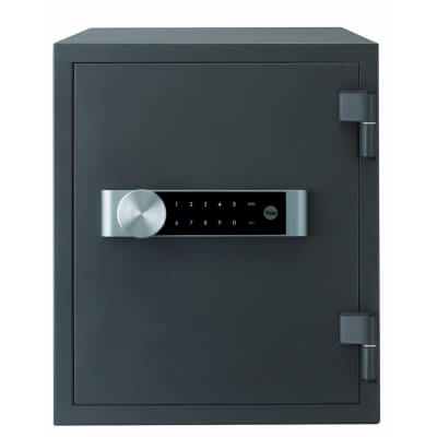Yale Large Fire Safe - 420 x 352 x 433mm - Grey)