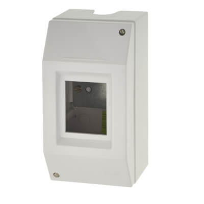 MK Insulated Metal Enclosure - 2 Module