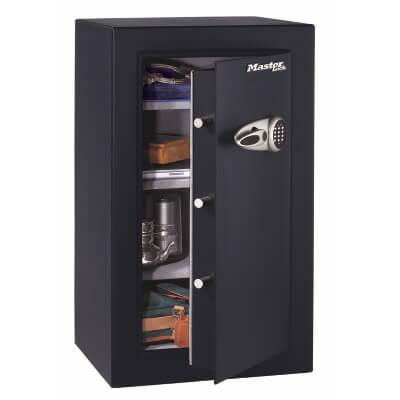 Masterlock T6 High Security Safe - 958 x 551 x 502mm - Black)