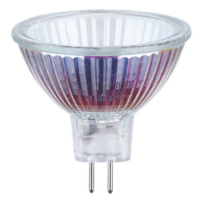 50W MR16 / GX5.3 Enclosed Spotlight Lamp - 60° Beam Angle)