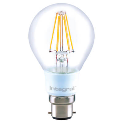 Integral LED 4.5W LED GLS Dimmable Filament Lamp - B22 - 2700K)