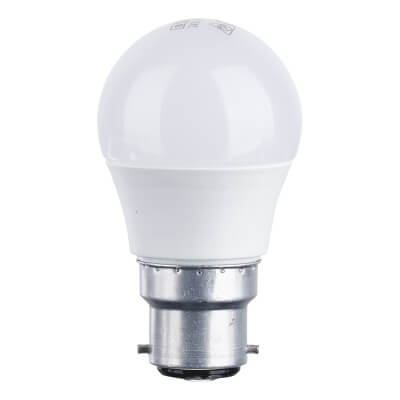 4W BC LED Golf Ball Lamp - Warm White)