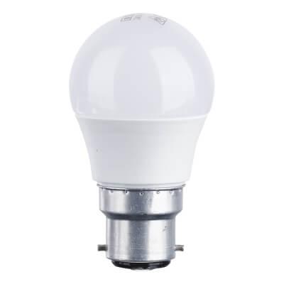 4W BC LED Golf Ball Lamp - Warm White)