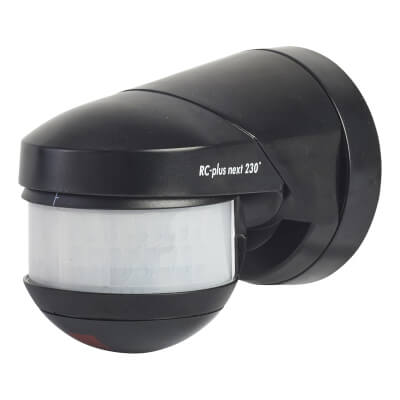 BEG Luxomat Rc-Plus - 230° Angle - Black