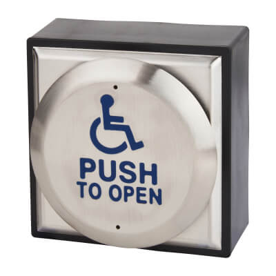 Equality Act Push to Open Button - Large)