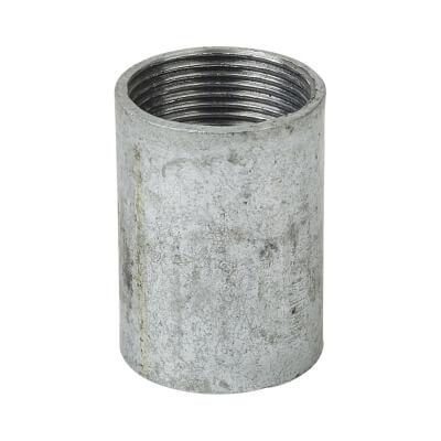 Steel Conduit Coupler - 25mm - Galvanised)