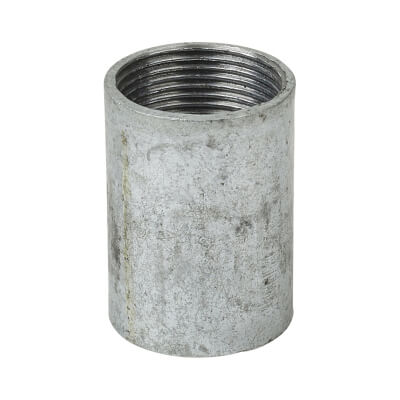 Steel Conduit Coupler - 25mm - Galvanised