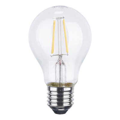 6W ES LED Filament Candle Lamp)