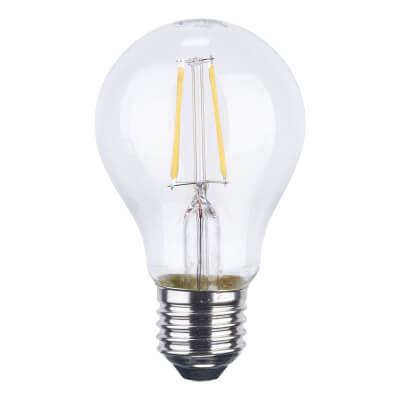 6W ES LED Filament Candle Lamp)