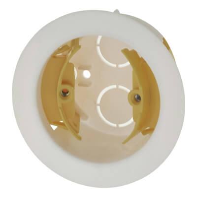 Appleby Circular Dry Line Box - 35mm - White)