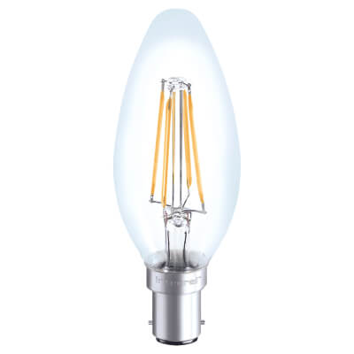 Integral LED 4W Filament Candle Lamp - B15 - 2700K)