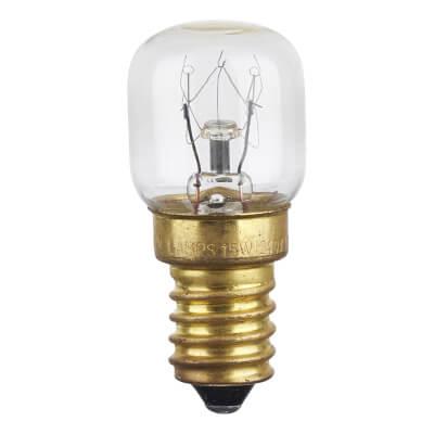 Crompton 15W 240V Oven Pygmy Lamp - SES)