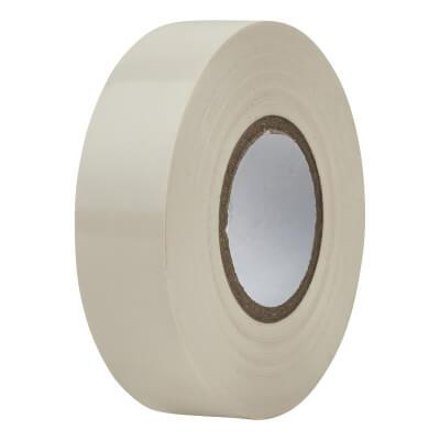 Directa 19mm Roll PVC Tape - 20m - White)