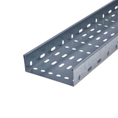 Trench Heavy Duty Cable Tray - Galvanised - 150 x 3000mm