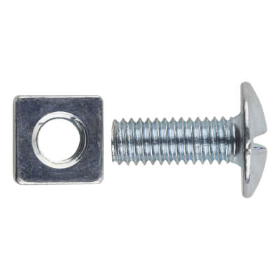 Roofing Bolt - M6 x 12mm - Pack 200)