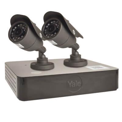 Yale HD Premium 2 Camera CCTV Kit)