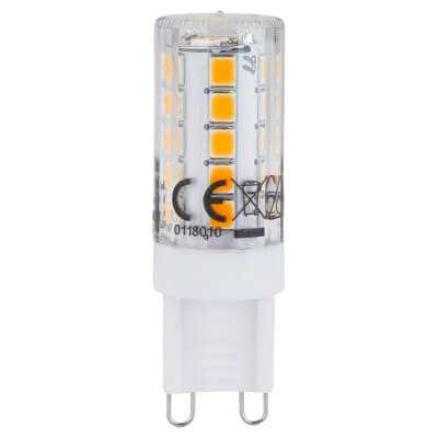 3W G9 LED 240V Dimmable (equiv 28W) - 2700K)