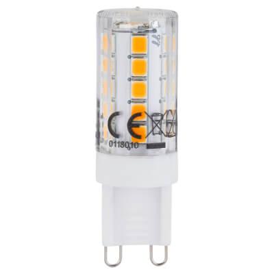 3W G9 LED 240V Dimmable (equiv 28W) - 2700K)