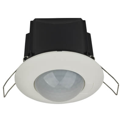 BEG PED3 1 Channel Ceiling Mounted Motion Detector - Flush)