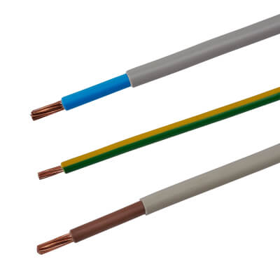 6181Y Double Insulated Meter Tails Pack - 25mm² x 1m)