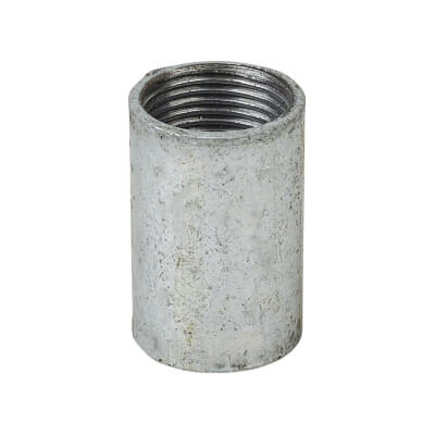 Steel Conduit Coupler - 20mm - Galvanised)
