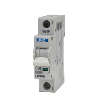 Eaton MEM 50A Single Pole 3 Phase MCB - Type C)