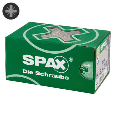 Spax Value Screw Pack - 3.5 x 25mm - Yellow Zinc - Pack 1000)