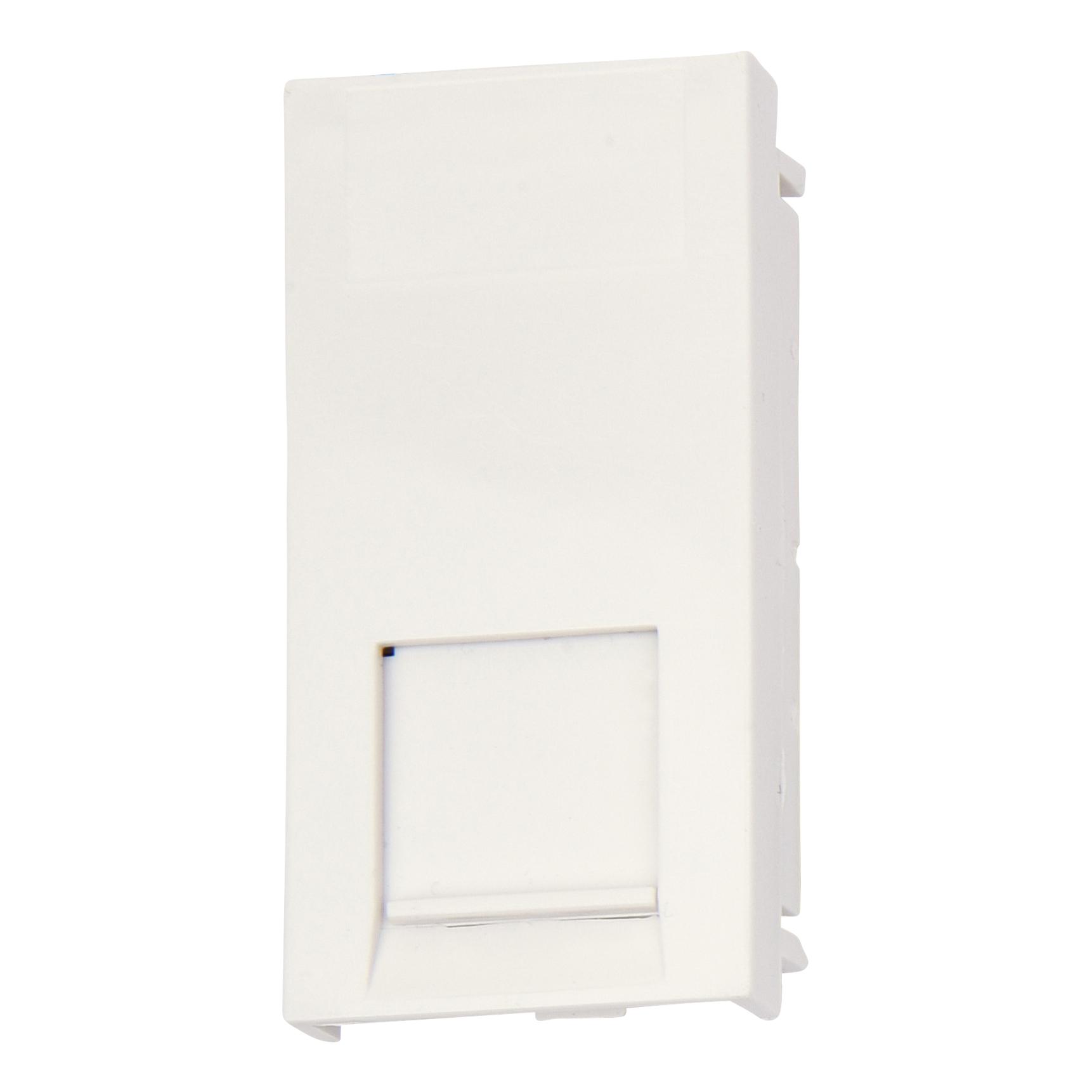 Deta RJ45 Data Module - White