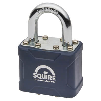 Squire Stronglock Laminated Steel Padlock - 44mm - Keyed to Differ)