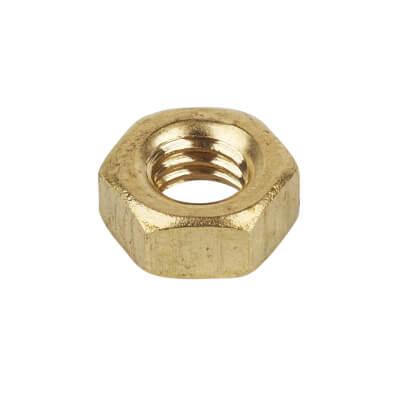 M4 Brass Nut - Pack 100)